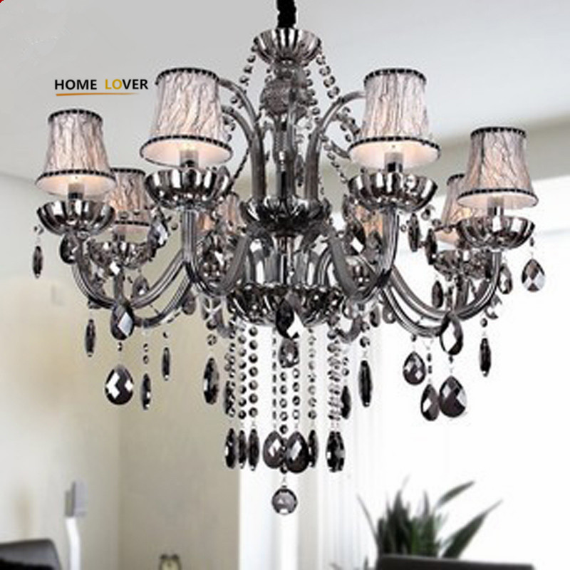 Modern led chandelier for home decoration Living room Bedroom Kitchen lustre de cristal K9 crystal lamp chandelier lighting цена