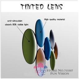 index 1 56 optical single vision lenses colorful resin lenses grey blue brown pink purple tinted