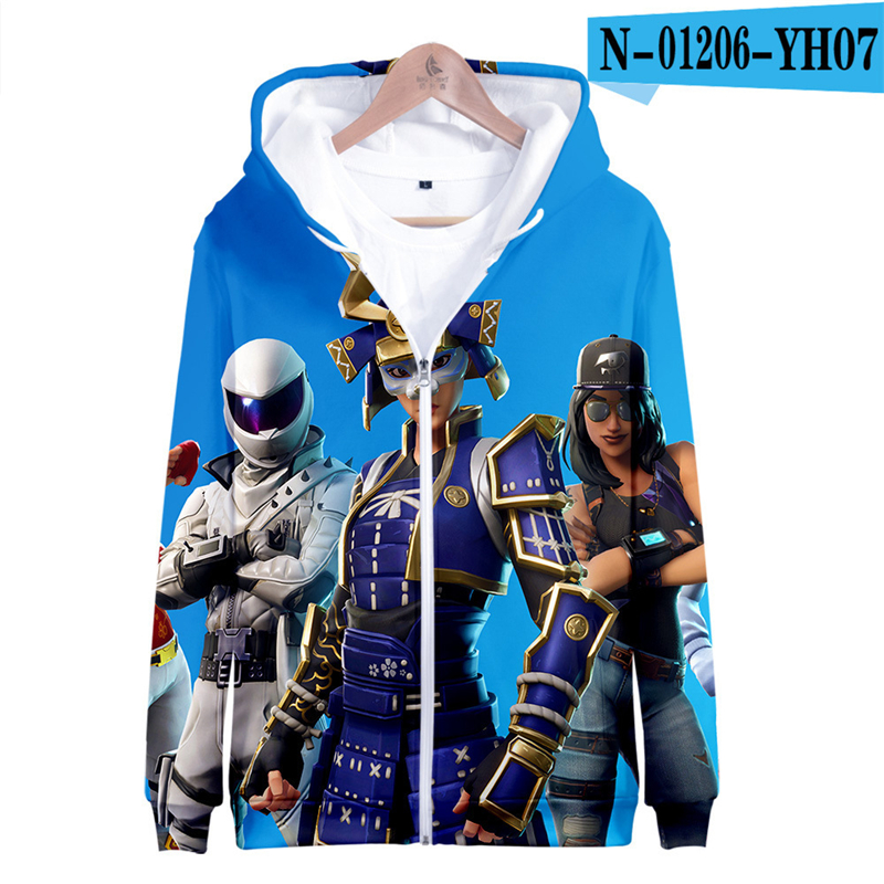 Fortniter Battle Royale Hoodie Pullover Hoodies Fortniter Battle Royale Clothes Battle Royale Kid Clothes Game Clothings 2019