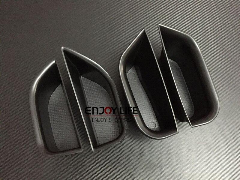 4pcs font b Car b font Door Handle Armrest font b Storage b font Glove Box