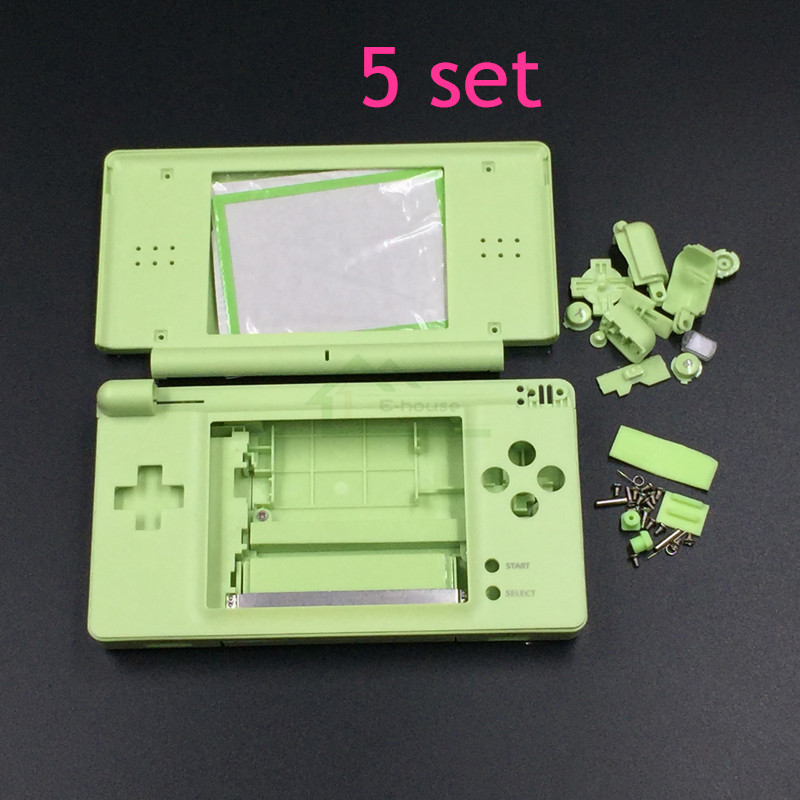 5 Set Le Green Color Replacement Shell Housing For Ndsl Case Cover Ds Lite Console In Parts Accessories From Consumer
