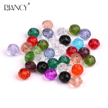 30 pcs DIY abs crystal beads loose handmade beaded female bracelet necklace material 8mm