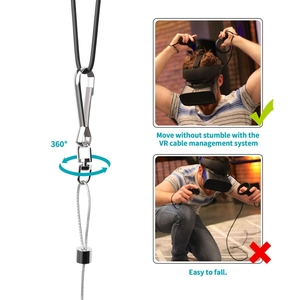 Image 4 - Vr Retractable Cable Management System,Virtual Reality Wire Cord Ceiling Management Accessories For Htc Vive/Htc Vive Pro/Ocul