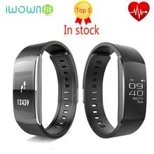 Original iwown i6 pro banda inteligente pulsera bluetooth 4.0 llamada mensaje recordatorio monitor de ritmo cardíaco smartband para ios android