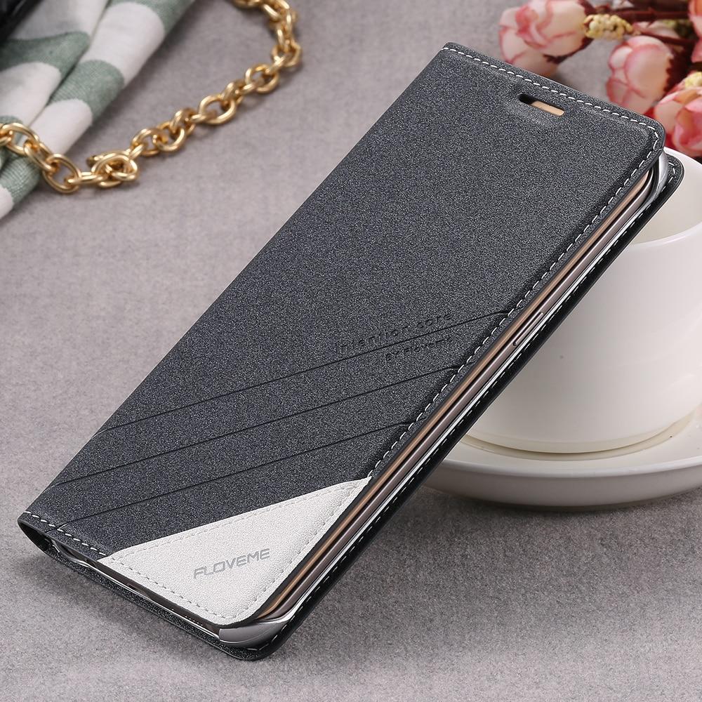 FLOVEME Per Samsung Bordo Samsung S8 S7 Più Il Caso di Cuoio di Vibrazione di Lusso Cassa del telefono Per Samsung Galaxy Bordo S7 S7 S6 S8 Copertura Del Raccoglitore
