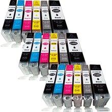 цена на 18 Compatible PGI 250 CLI 251 ink cartridge For canon PIXMA MG5420 MG5422 MG5520 MG5522 MG6420 IP7220 MX722 MX922 IX6820 printer