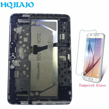 Tablet LCD & Panels For Samsung Galaxy Note 10.1 N8000 N8010 LCD Display Touch Screen Digitizer Frame For Samsung N8000 Assembly