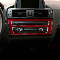 Car Inernal Pearl Control Refit CD Center Panel Decorative Cover Trim Sticker For BMW 1 Series