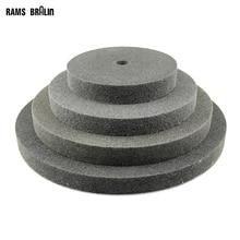 1 قطع 150/200/250/300*25 مللي متر سماكة ألياف النايلون تلميع عجلة غير المنسوجة uniized عجلة 7P 180 #