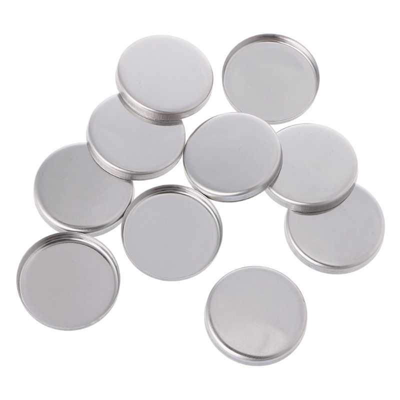 10pcs Empty Eyeshadow Palette Powder Pans Pot Storage Responsive to Magnets Pro