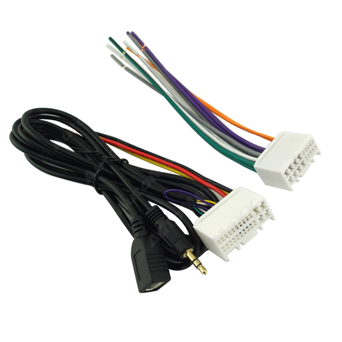 Dewtreetali Car Audio Cd Stereo Wiring Harness Adapter