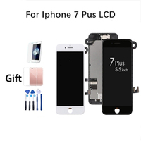 AAA For IPhone 7 Plus Display 3D Touch Screen Full Assembly Replacement With Digitizer And Front Camera+Ear Speaker+Home Button
