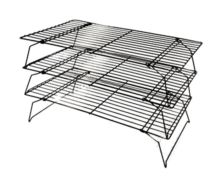 1pcs 3 Tier Cooling Rack 17 Inch 9 7 Baking Metal Non Stick In Pastry Tools From Home Garden On Aliexpress Com Alibaba Group