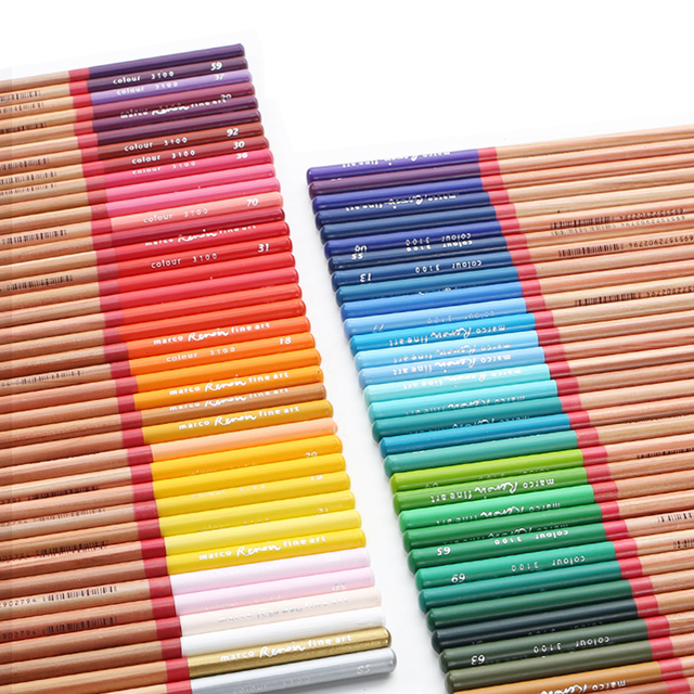 Professional Quality Water Colour Pencil Sets Tin box