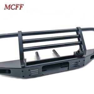 Image 2 - Универсальный металлический передний бампер для 1/10 RC Гусеничный TRX4 Defender Bronco Axial Scx10 90046 90047