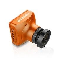 Nova Chegada Seta V3 2.5mm 600TVL FOXEER HAD II CCD PAL/NTSC Bloco de IR Mini Câmera FPV Embutido OSD MIC