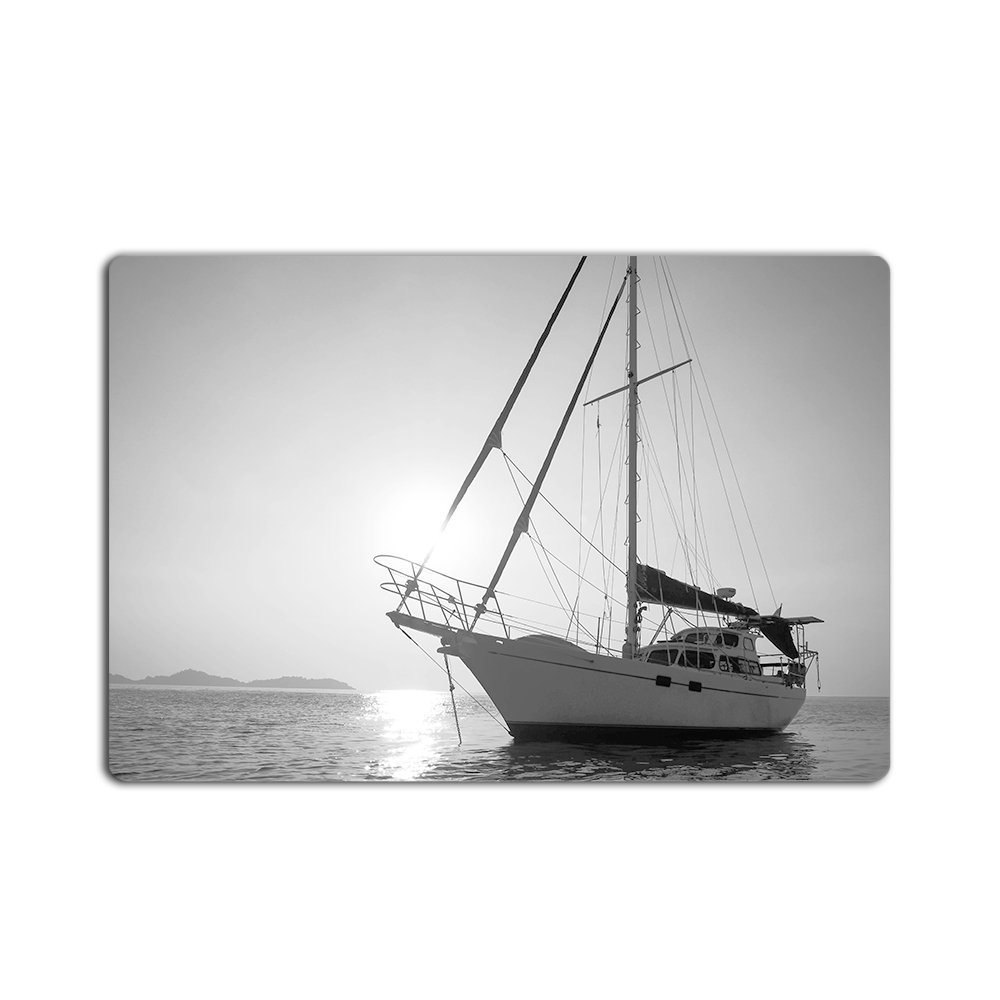 Customize New Fashion Design Retro Vintage Sailing Boat Welcome Doormat Indoor/Outdoors  ...