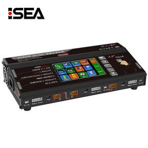 "Image 1 - Balance Ladegerät HT206 AC/DC TRI Triple Port 200W * 3 20A 4.3 ""Farbe LCD Touch Screen für Lilon/LiPo/LiFe/LiHV/Nicd/NiMh PB Batterie"
