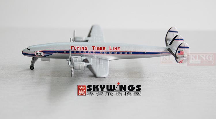 Wings Dragon 55681 Tiger Flying Line L-1049H VH-EAG 1:400 commercial jetliners plane model hobby