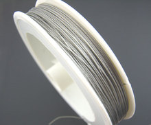 Antique Silver Beading Wire 0 45mm
