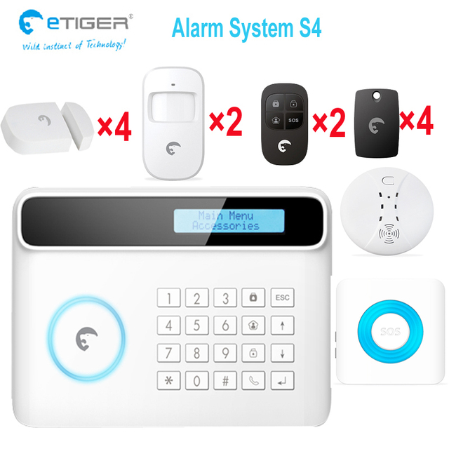 Great Function Protect Your Home Safe Security System E Tiger S4 Control Wireless Alarm