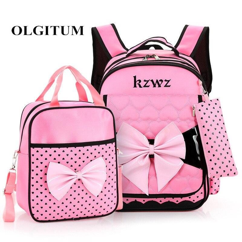 2018 Новые Симпатичные принцессы для девочек школьные Ортопедические сумка рюкзак для девочек ортопедический рюкзак школьный Детские рюкза...