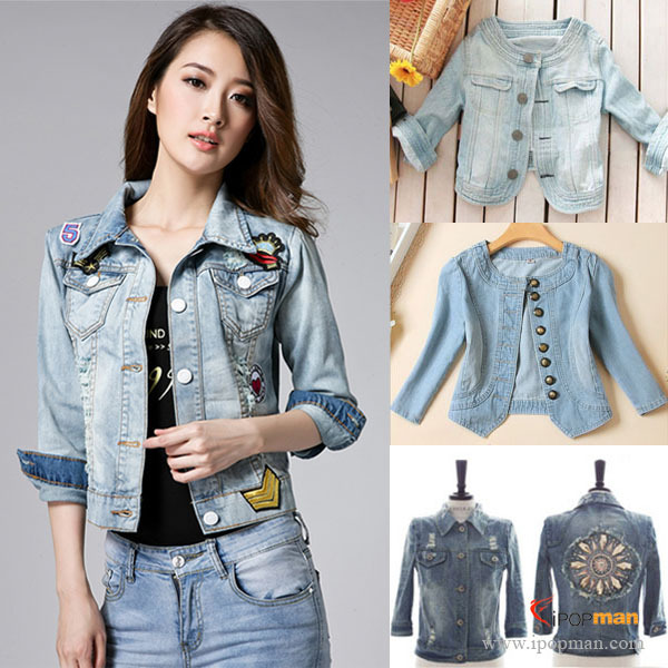 jeans coat Picture - More Detailed Picture about 7 Styles! New ...