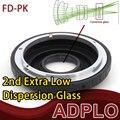 Pixco adaptador óptico traje para Canon FD lente a Pentax K PK K-3 K-50 K-5 II K-30 K-01 K-5 kr kx K-7 km K20D K200D cámara