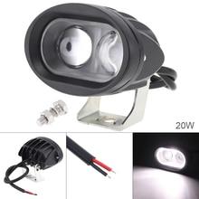 4 дюйма 20 Вт 6500 K Водонепроницаемый светодиодный рабочий свет для вождения противотуманных фар для автомобиля/мотоцикла/лодки/ATV