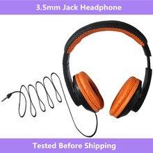 3.5mm Jack Portable sur loreille bandeau filaire écouteur jeu casque pliable casque pour OPPO téléphone Portable MP3 PC Table