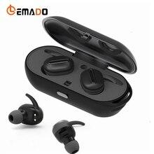 Sans fil Bluetooth Casque Jumeaux Vrai Mini Écouteurs Stéréo Écouteurs In-Ear casque avec la Banque D'alimentation Pour Téléphone Mobile