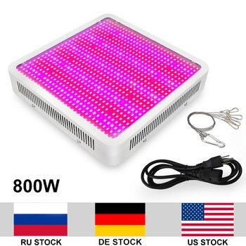 800W Büyüyen Lamba AC85 265V 5730SMD LED Kapalı Bitkiler Için Işık Tam Spektrum Büyümeye Yol Açtı Büyüyen Çiçekli Tüm Süresi