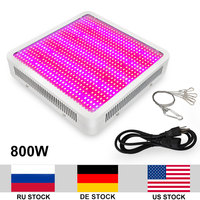 800W Growing Lamp AC85 265V 5730SMD LED Grow Light Full Spectrum For Indoor Plants Growing Flowering Whole Period