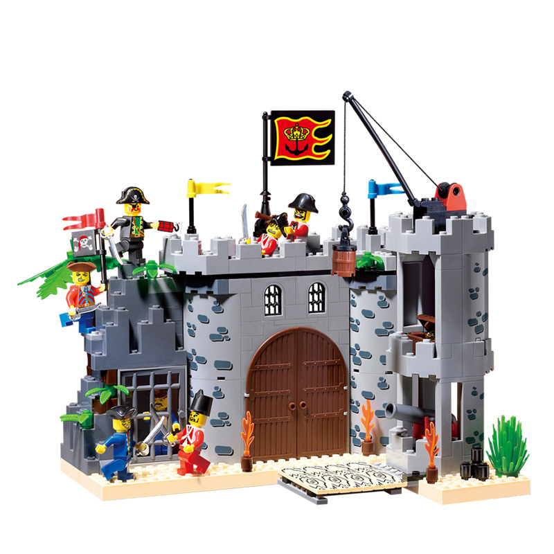 310 366pcs Knights Castle Constructor Model Kit Blocks Compatible LEGO Bricks Toys for Boys Girls Children Modeling