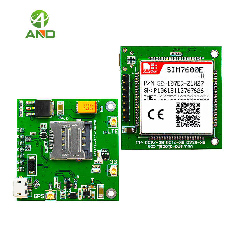 LTE CAT4 Module Board SIM7600E H,4G LTE Cat 4 Breakout Board,SIM7600E H  Core Board 1pc
