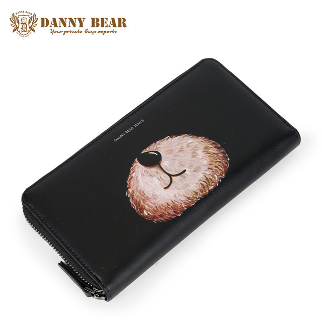ee8725bb8c0 US $35.59 |DANNY BEAR Ladies Fashion Leather Slim Wallet Brand Women Change  Coin Purse Cheap Cute Dollars Wallets And Purses Card Holder-in Wallets ...