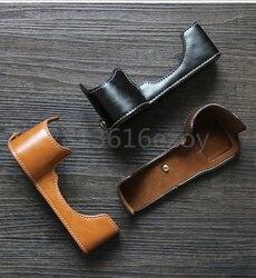 Чехол для камеры, кожаный чехол для Sony A7II A7M2 A7III -A7R3 A9 A6000 A6300 a6500 A5000 A5100 RX1R RX1 A7R A6400