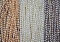 Venta al por mayor 15 strands pequeño 3 mm blanco rosa violeta arroz perlas de agua dulce