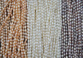 wholesale 15 strands small 3mm white pink purple rice freshwater pearl