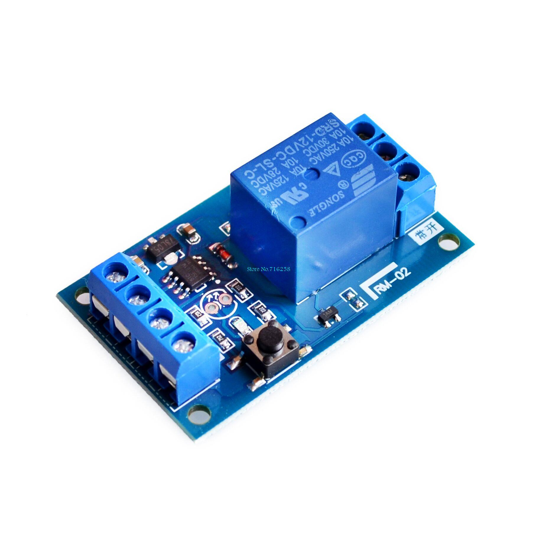 12V Bond Bistable Relay Module Car Modification Switch One Key Start and Stop the Self-Locking12V Bond Bistable Relay Module Car Modification Switch One Key Start and Stop the Self-Locking