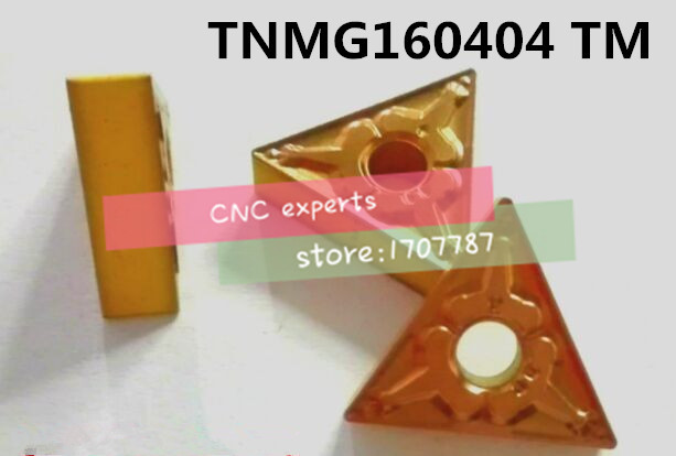 Free shipping TNMG160404-TM carbide CNC inserts,CNC lathe tool,apply to steel processing,insert MTQNRMTJNR,Good wear resistance