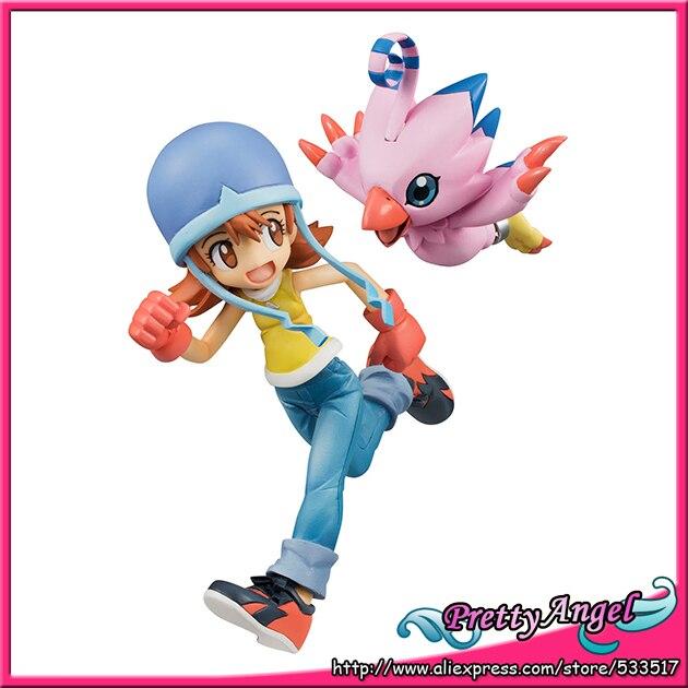 PrettyAngel - Genuine Megahouse Exclusive G.E.M Series Sora Takenouchi & Piyomon Action Figure 1