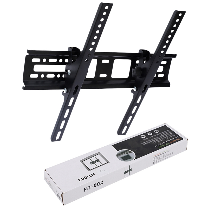 Image 5 - Universal Lcd Led Tv Wall Bounted Brackets 30Kg Steel 400X400Mm 15° Tilt Wall Mount For 32 46 42 50 55 inch Monitor-in TV Mount from Consumer Electronics