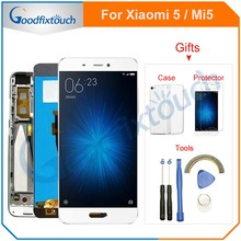 For Xiaomi Mi 5 LCD Screen Touch Digitizer With Frame Assembly Replacement For Xiaomi 5 Mi5 Mi 5 LCD Display(China)