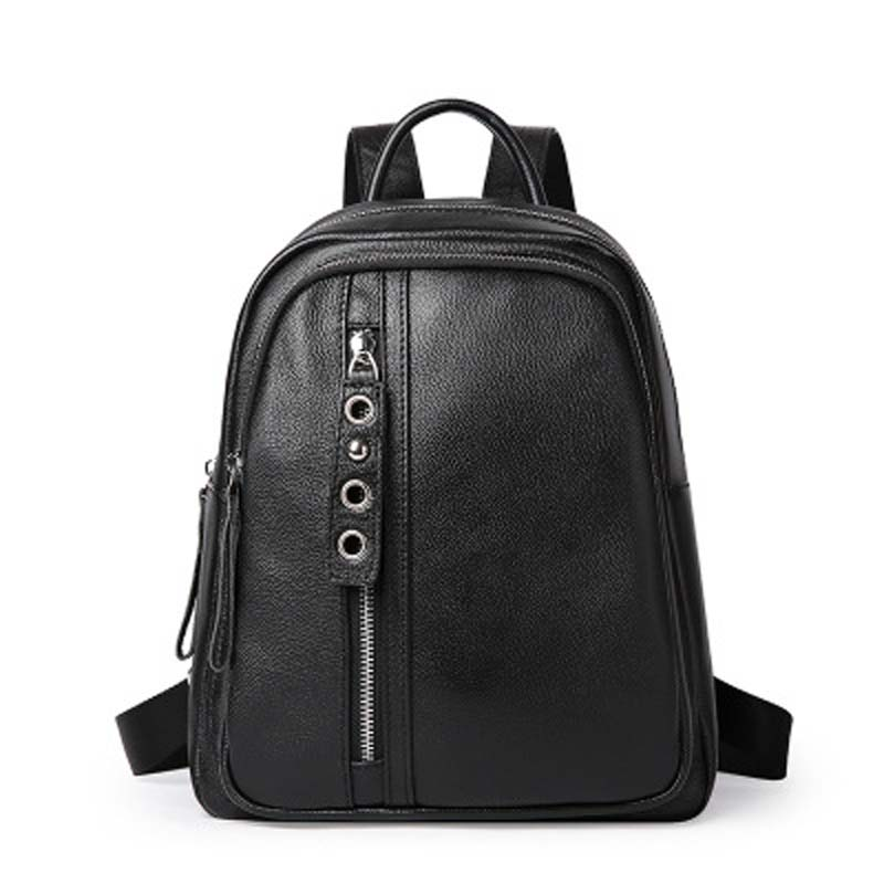 YISHEN Fashion Genuine Leather Women Backpack Preppy Style Girl's School Bags Large Capacity Women Travel Bags Backpack QSL0945 nawo fashion genuine leather backpack rivet women bags preppy style backpack girls school bags zipper large women s backpack sac