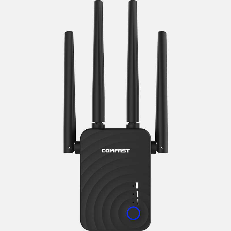 Extensor de longa distância 802.11ac repetidor wi fi sem fio impulsionador 2.4g/5ghz wi-fi amplificador 300/1200 m roteador wi-fi ponto acesso