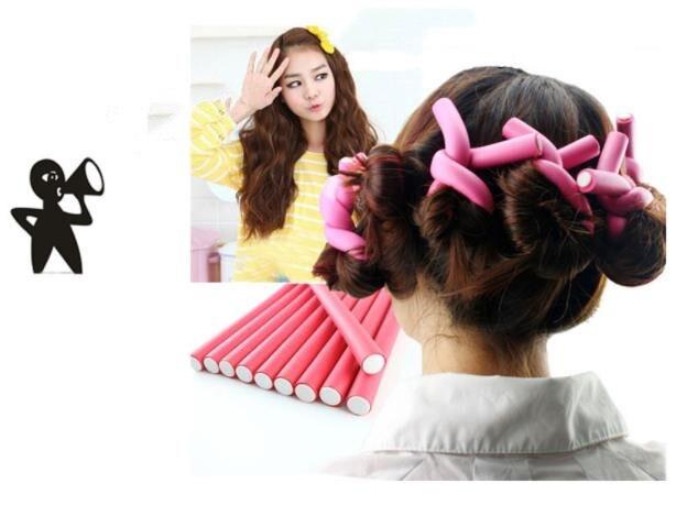 42Pcs Flexible Curling Rods Magic Curler Rod Twist-flex Hair Roller 7 Sizes Foam Reusable Non Heating Safe Styling Tool 4