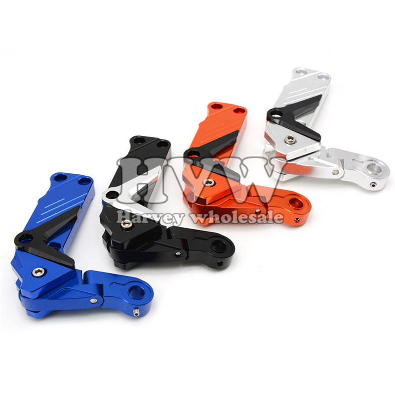 Universal CNC aluminum Adjustable Conversion Motorcycle Chain Tensioner  For DUCATI  MONSTER S2R 65mm universal throttle body cnc t6 aluminum red 40001