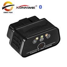 KONNWEI KW903 ELM327 Bluetooth Car OBD2 OBDII Auto Fault Diagnostic Tool New Product Free shipping