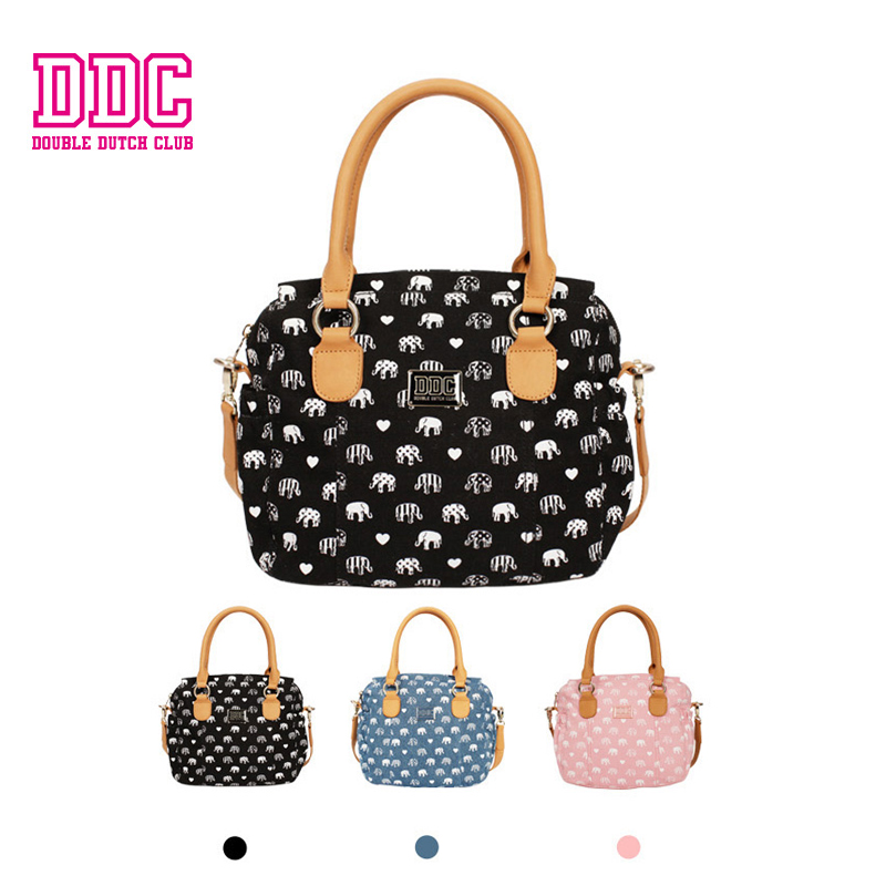 DDC Brand Classic Elephant Handbag New Bag Women Solid Bag Female Canvas Bag Women Shoulder Bag Original Designer Casual Tote ddc brand handbags new bag female solid bag women messenger bag female casual tote small original designer female shoulder bag